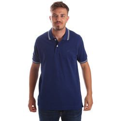 Kleidung Herren Polohemden Key Up 2Q70G 0001 Blau