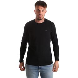 Kleidung Herren Langarmshirts Key Up 2E96B 0001 Schwarz