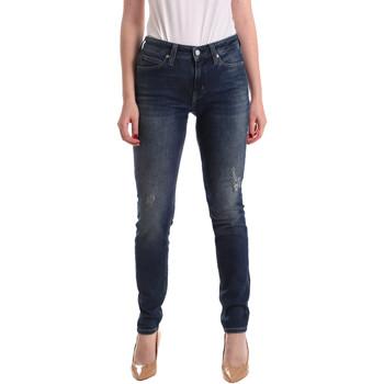 Kleidung Damen Boyfriend Jeans Calvin Klein Jeans J20J209427 Blau
