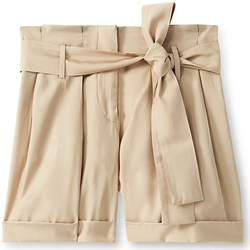 Kleidung Damen Shorts / Bermudas Liu Jo F19231T2311 Beige