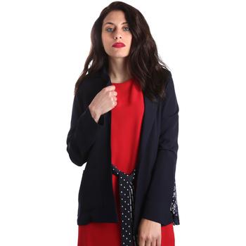 Kleidung Damen Jacken / Blazers Fracomina FR19SP006 Blau
