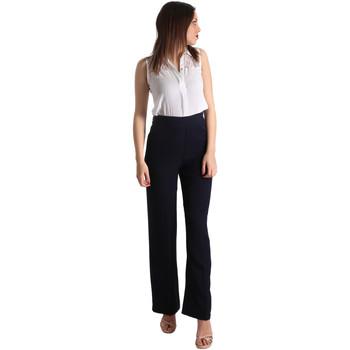 Kleidung Damen Overalls / Latzhosen Fracomina FR19SP008 Blau