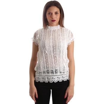 Kleidung Damen Tops / Blusen Fracomina FR19SP521 Weiß