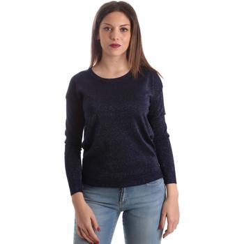 Kleidung Damen Pullover Fracomina FR19SP8009 Blau