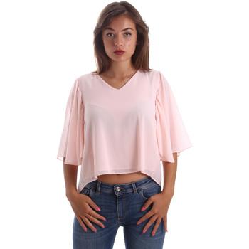 Kleidung Damen Tops / Blusen Fracomina FR19SP468 Rosa