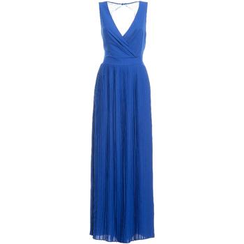 Kleidung Damen Maxikleider Fracomina FR19SM673 Blau