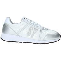 Schuhe Damen Sneaker Low Sweet Years S19-SSW636 Weiß
