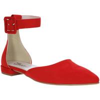 Schuhe Damen Ballerinas Grace Shoes 977003 Rot