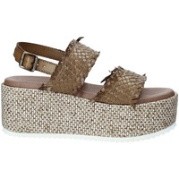 Schuhe Damen Sandalen / Sandaletten Pregunta IBH6649 Braun