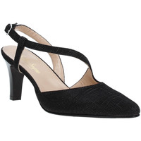 Schuhe Damen Pumps Soffice Sogno E9360 Schwarz
