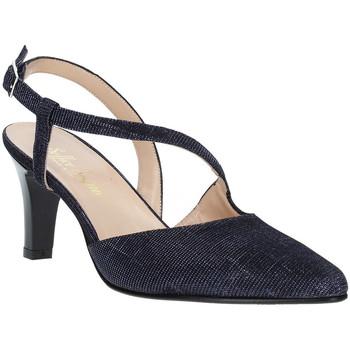 Schuhe Damen Pumps Soffice Sogno E9360 Blau