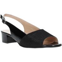 Schuhe Damen Sandalen / Sandaletten Soffice Sogno E8113T Schwarz