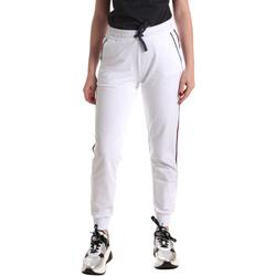 Kleidung Damen Jogginghosen Ea7 Emporio Armani 3GTP54 TJ31Z Weiß