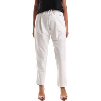 Kleidung Damen Chinohosen U.S Polo Assn. 51478 51302 Weiß