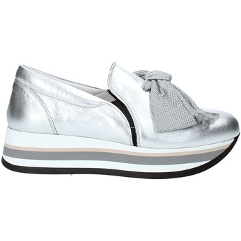 Schuhe Damen Slip on Triver Flight 232-09 Silber