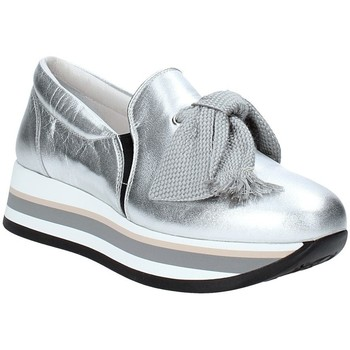 Triver Flight 232-09 Silber - Schuhe Slip on Damen 7750