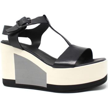 Schuhe Damen Sandalen / Sandaletten Marco Ferretti 660299MF Schwarz