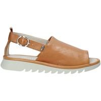Schuhe Damen Sandalen / Sandaletten Valleverde 41151 Braun