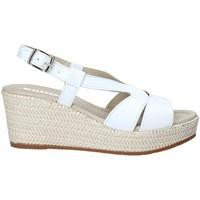 Schuhe Damen Sandalen / Sandaletten Valleverde 32211 Weiß