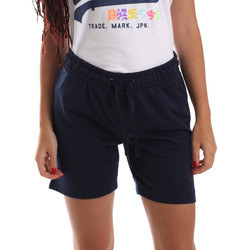 Kleidung Damen Shorts / Bermudas Key Up 5F59G 0001 Blau