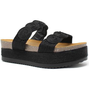 Schuhe Damen Pantoffel Exé Shoes I468Q6923001 Schwarz