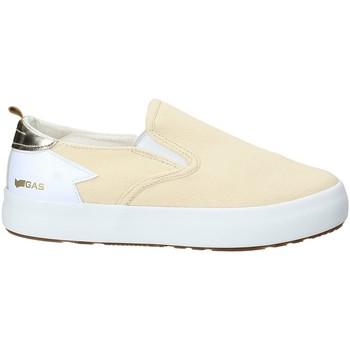 Schuhe Damen Slip on Gas GAW910105 Beige