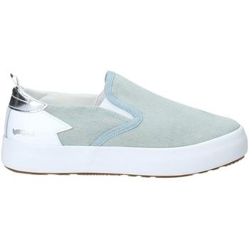 Schuhe Damen Slip on Gas GAW910105 Blau