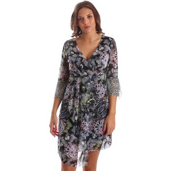 Kleidung Damen Kurze Kleider Smash S1984413 Schwarz