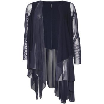 Kleidung Damen Strickjacken Smash S1953411 Blau