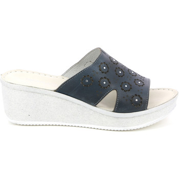 Grunland CI1561 Blau - Schuhe Pantoffel Damen 2795