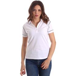 Kleidung Damen Polohemden La Martina NWP002 PK001 Weiß