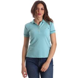 Kleidung Damen Polohemden La Martina NWP002 PK001 Blau