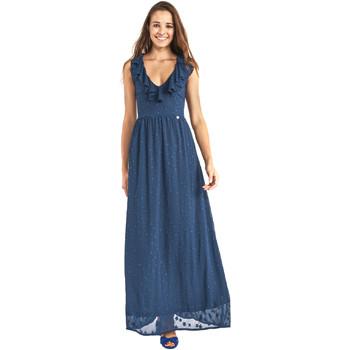 Kleidung Damen Maxikleider Gaudi 911BD15007 Blau