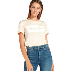 Kleidung Damen T-Shirts Wrangler W7016D Orange