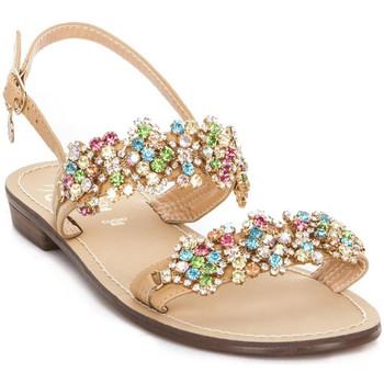 Schuhe Damen Sandalen / Sandaletten Gold&gold A19 GL306 Braun