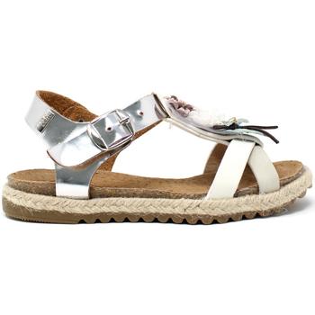 Schuhe Mädchen Sandalen / Sandaletten Miss Sixty S19-SMS586 Silber