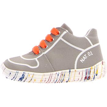 Schuhe Kinder Sneaker Low Naturino 2013463-03-0B03 Grau