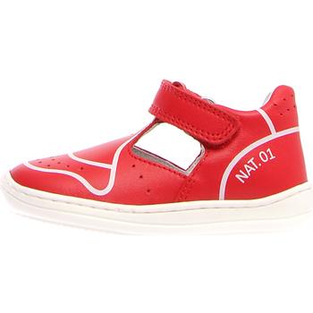 Schuhe Kinder Sandalen / Sandaletten Naturino 2013464-01-0H05 Rot