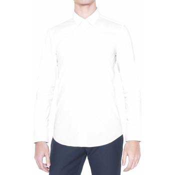 Kleidung Herren Langärmelige Hemden Antony Morato MMSL00375 FA450001 Weiß