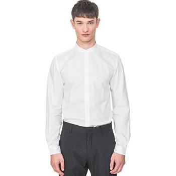 Kleidung Herren Langärmelige Hemden Antony Morato MMSL00604 FA440031 Weiß