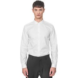 Kleidung Herren Langärmelige Hemden Antony Morato MMSL00596 FA400072 Weiß