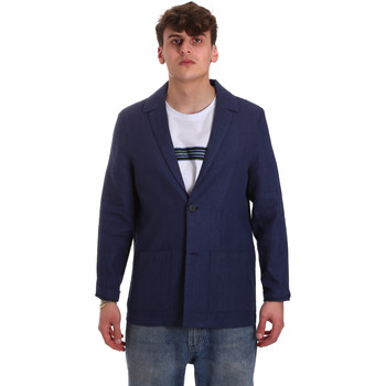 Kleidung Herren Jacken / Blazers Antony Morato MMJA00432 FA950158 Blau