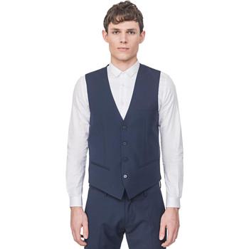 Kleidung Herren Strickjacken Antony Morato MMVE00087 FA650176 Blau