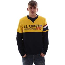 Kleidung Herren Sweatshirts U.S Polo Assn. 52522 49151 Gelb