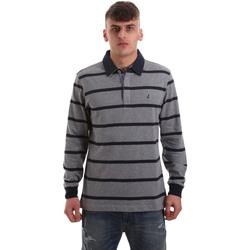 Kleidung Herren Langärmelige Polohemden Navigare NV30027 Grau