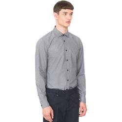 Kleidung Herren Langärmelige Hemden Antony Morato MMSL00548 FA430389 Blau