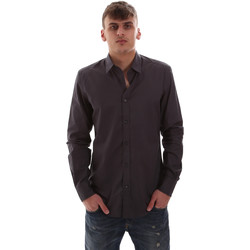 Kleidung Herren Langärmelige Hemden Antony Morato MMSL00574 FA430403 Grau