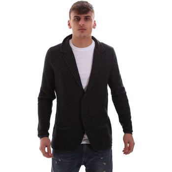Kleidung Herren Strickjacken Antony Morato MMSW00949 YA200061 Blau