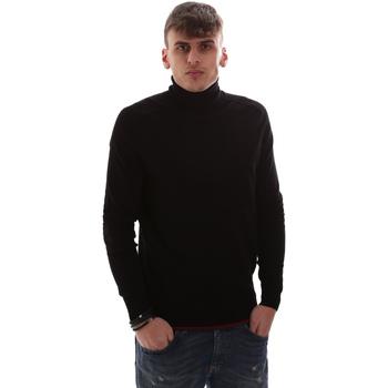 Kleidung Herren Pullover Antony Morato MMSW00958 YA500002 Schwarz