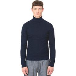 Kleidung Herren Pullover Antony Morato MMSW00977 YA200055 Blau
